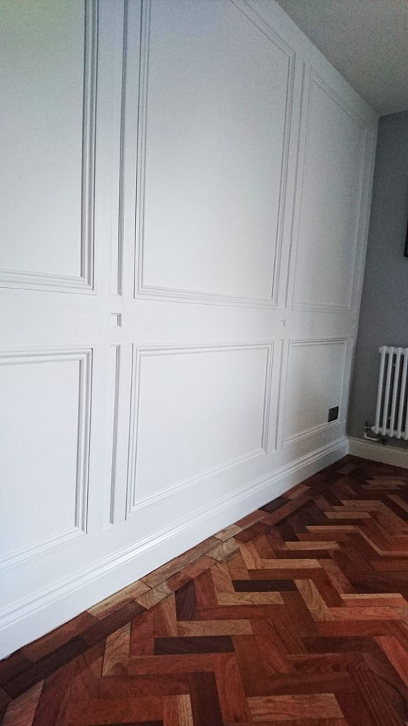 Regency Style Bespoke Carpentry Panelling